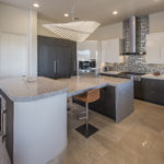 kitchen island across big